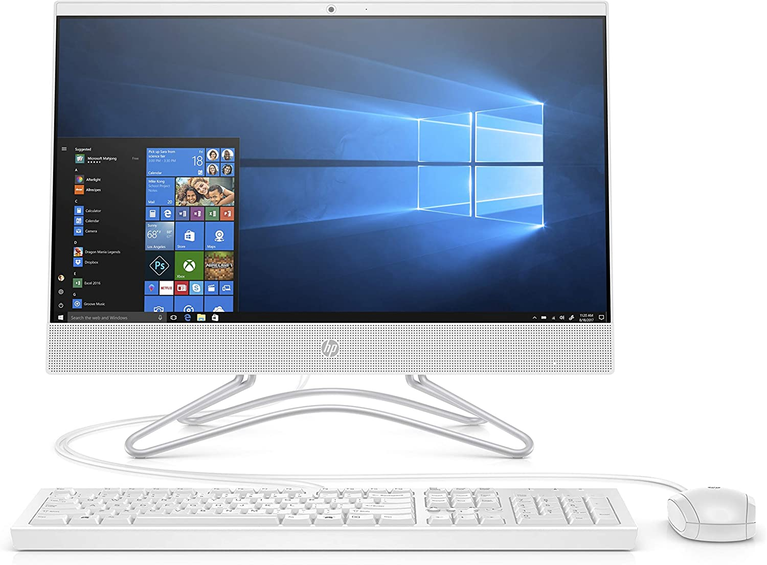 2019 New HP 22 All-in-One PC Full HD 21.5