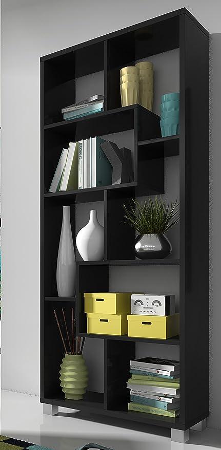 SelectionHome - Estantería librería de diseño Comedor salón, Color ...