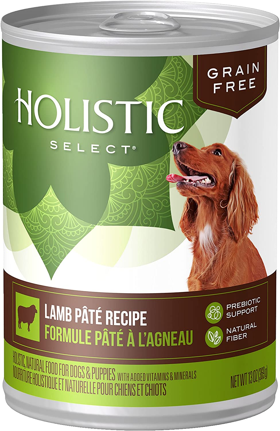 Holistic Select Natural Wet Grain Free Canned Dog Food, 13-Ounce Can (Pack Of 12)