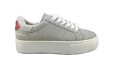 buy popular b695f c70e7 ROXY ROSE Scarpa Sneaker Casual Donna/Woman con Zeppa cm.3 ...