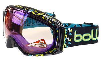 546b3fc879 Bollé Gravity Máscara Ski Color Negro Diagonal, Doble Lente Fotocromática  Rosa. Para luminosidad Poca a media condiciones: Amazon.es: Deportes y aire  libre