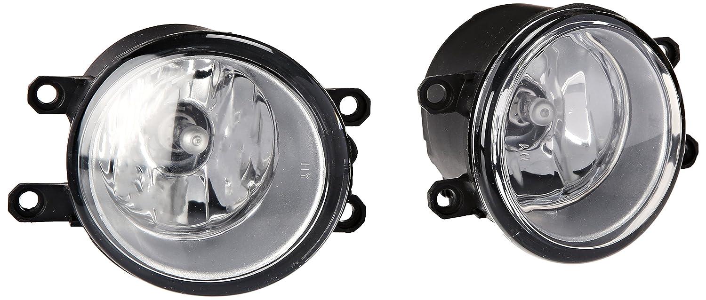 Amazon.com: Spec-D Tuning LF-YAR064OEM Toyota Yaris 4 Door Sedan Oem Style  Chrome Clear Fog Lights Lamps: Automotive