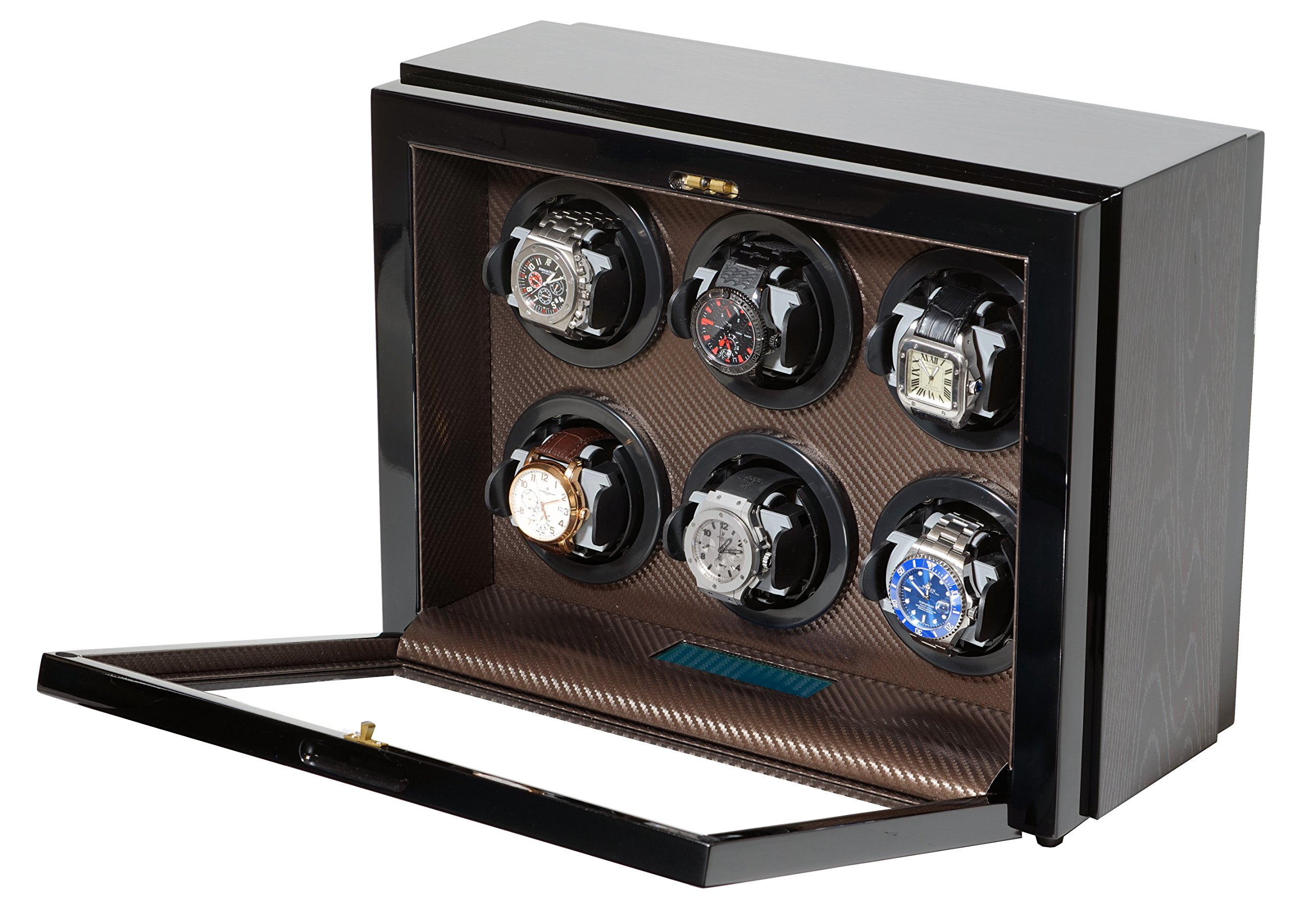 Belocia automatic watch winder for self winding wathces like Rolex, Omega, Breitling, Hublot and more