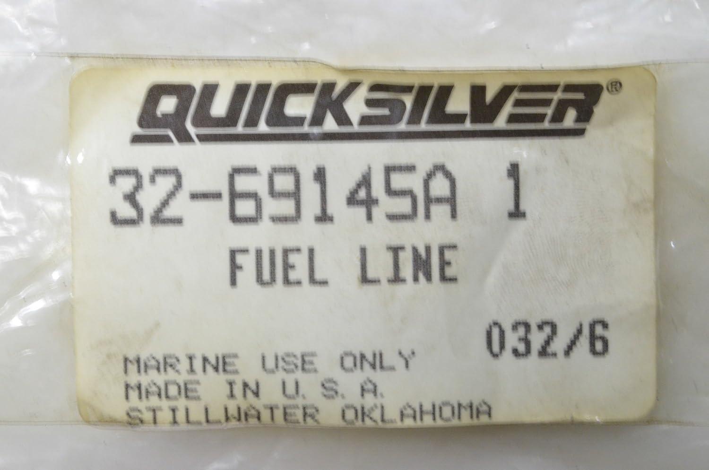 Mercury Quicksilver 32-69145A 1 Fuel Line Made by Mercury Quicksilver