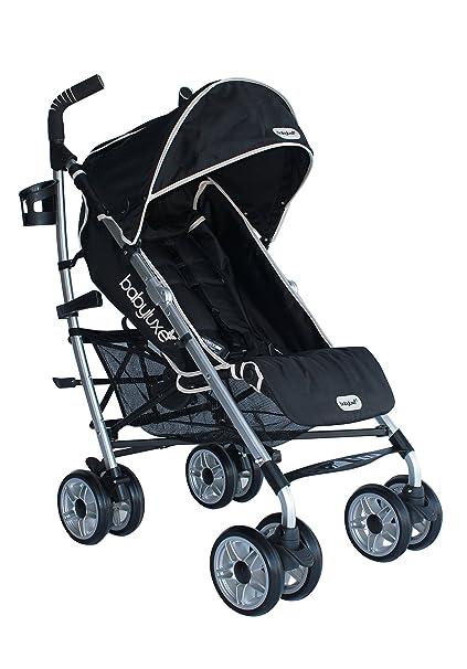 Baby Luxe 3022000200005 - Silla de paseo, chasis mate, base negra ...