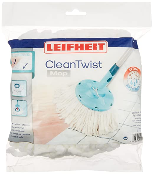 14 opinioni per Leifheit Testina sostitutiva Disc Mop, con Microfibre Flessibili, Turchese