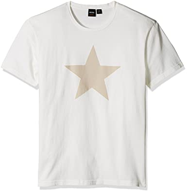 a93d2b9f4 Amazon.com: Hugo Boss Men's Tracking Big Star Graphic Tee: Clothing
