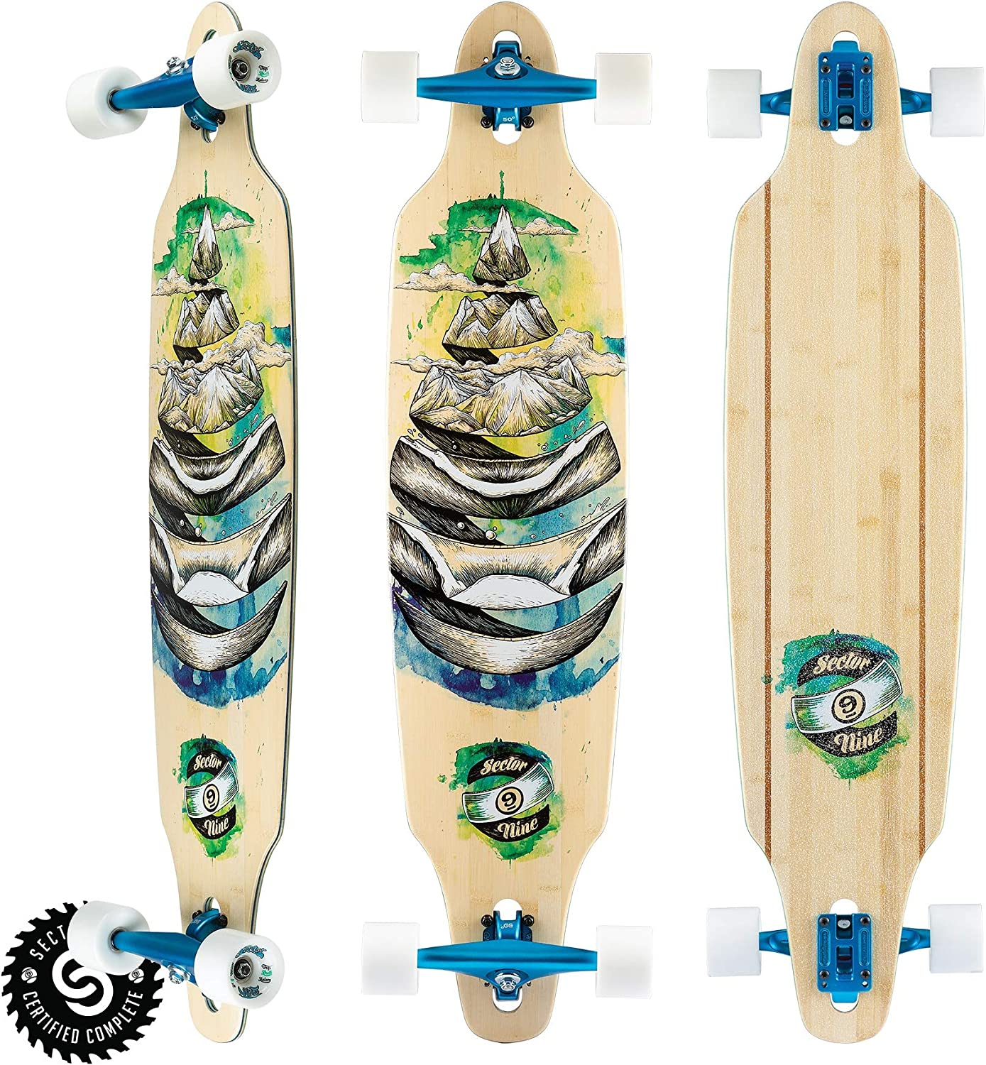 Sector 9 Mens Droplet Lookout Complete Skateboard