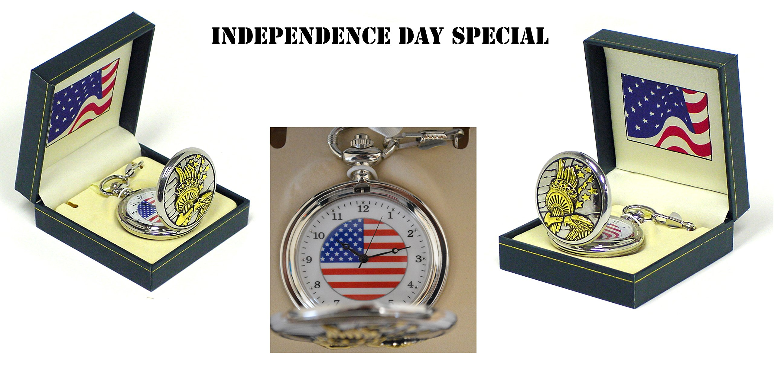 Independence Day Special - Liberty Pocket Watch