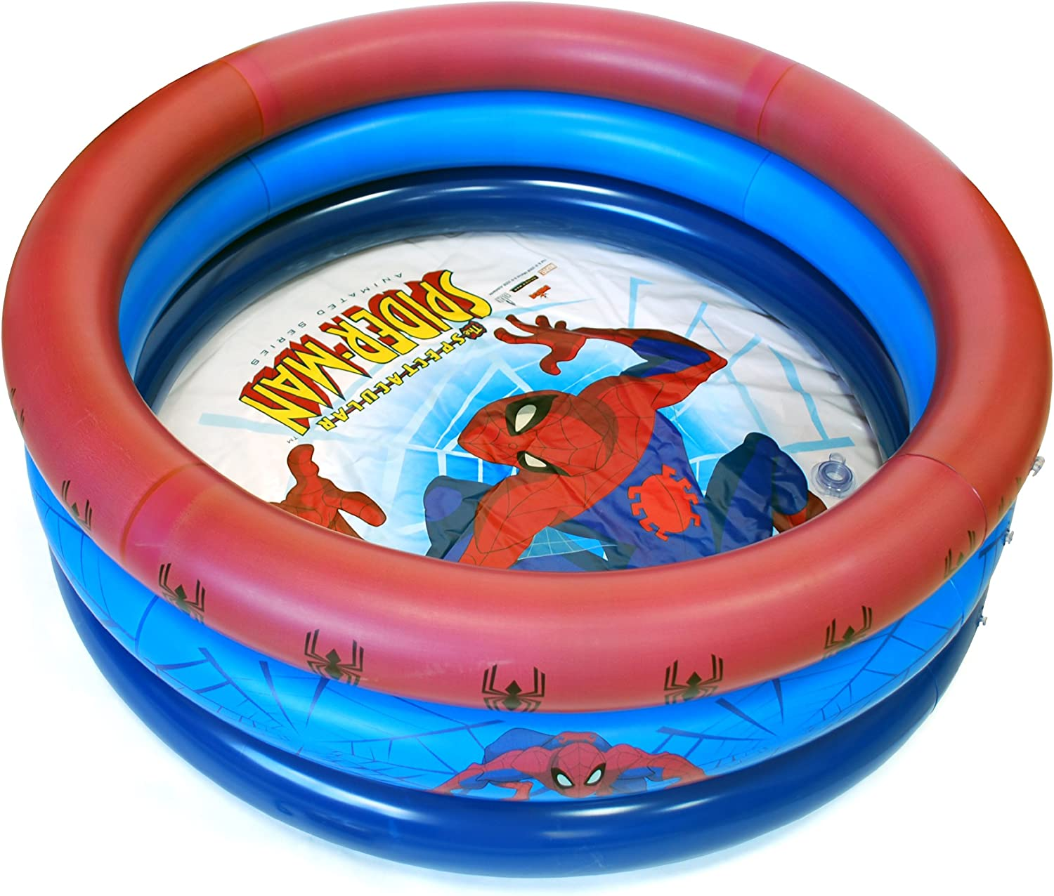 Spiderman - Piscina Hinchable (Saica 1235): Amazon.es: Jardín