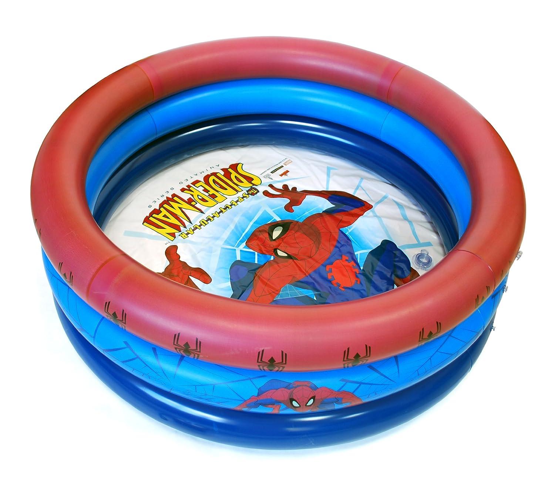 Spiderman - Piscina hinchable (Saica 1235): Amazon.es: Jardín