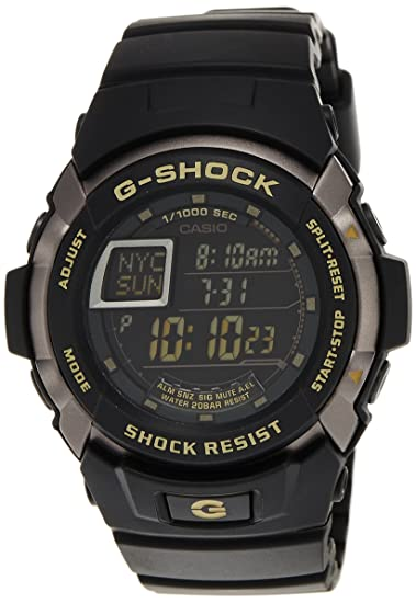 Casio G7710-1 - Reloj de Pulsera Hombre, Resina