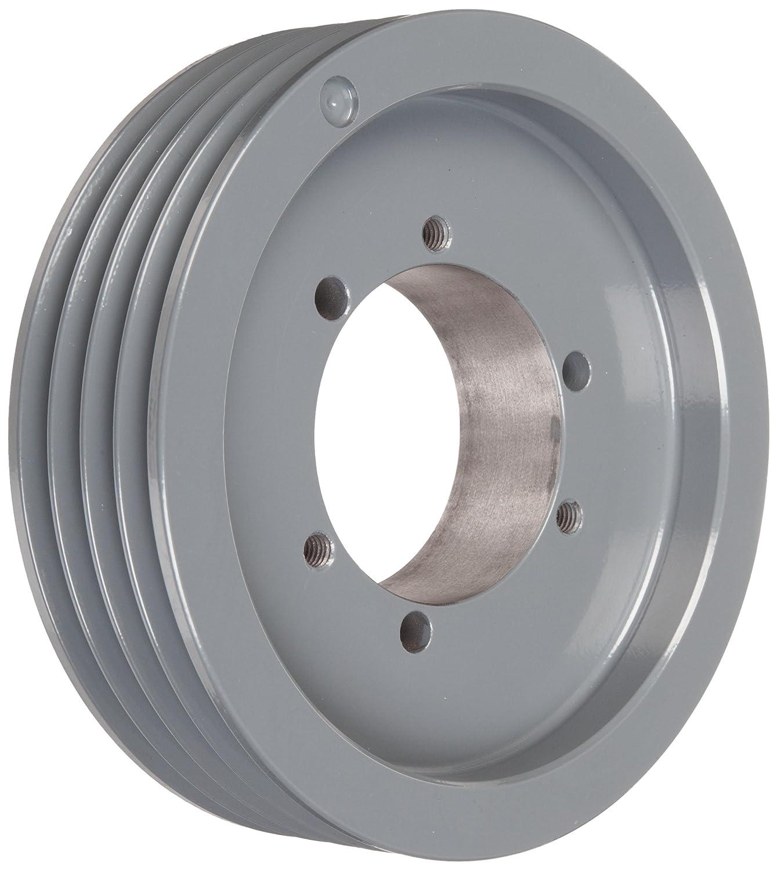 4 Grooves TB Woods 3V3654 Narrow V-Belt Sheave SH Bushing required Ductile Iron 3V Belt Section 3.65 OD