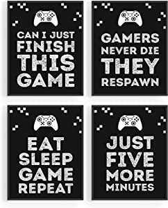 "Gaming Posters for Gamer Room Decor - by Haus and Hues | Xbox Game Posters, Gaming Decor and Video Game Room Decorations | Gamer Wall Decor | Gamer Posters for Walls Gaming Pictures (8""x10"" UNFRAMED)"