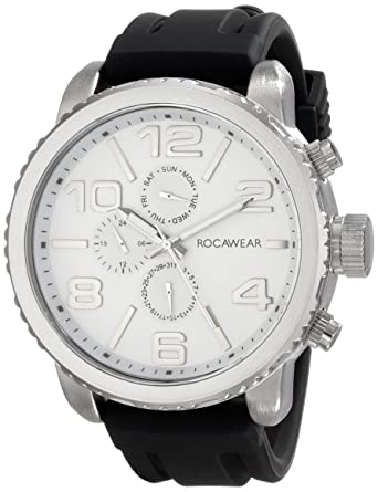 Buy Rocawear Mens Rm0210s1 322 Analog Display Analog Quartz Black