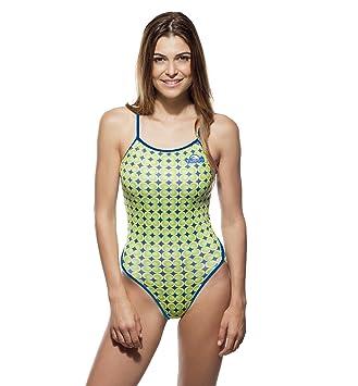 Turbo Sport Bañador Flower 70 Thin Strap para schwimmerinnen Triathlon - Espaguetis Bañador Portador: Amazon.es: Deportes y aire libre
