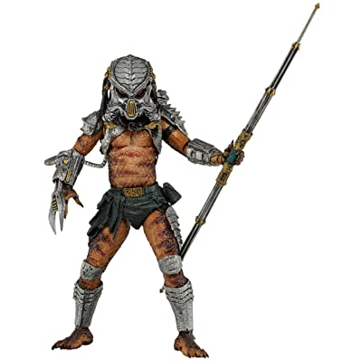 "NECA Predator Series 13 Cracked Tusk Predator 7"" Scale Action Figure: Toys & Games"