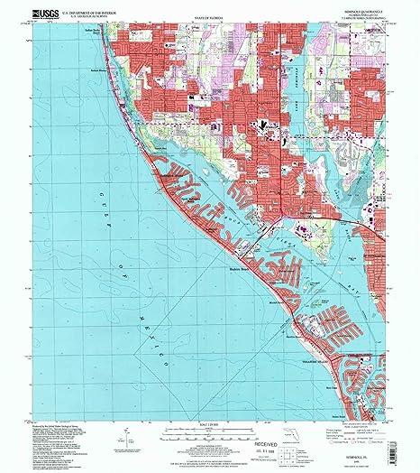 Amazon.com : YellowMaps Seminole FL topo map, 1:24000 Scale ...