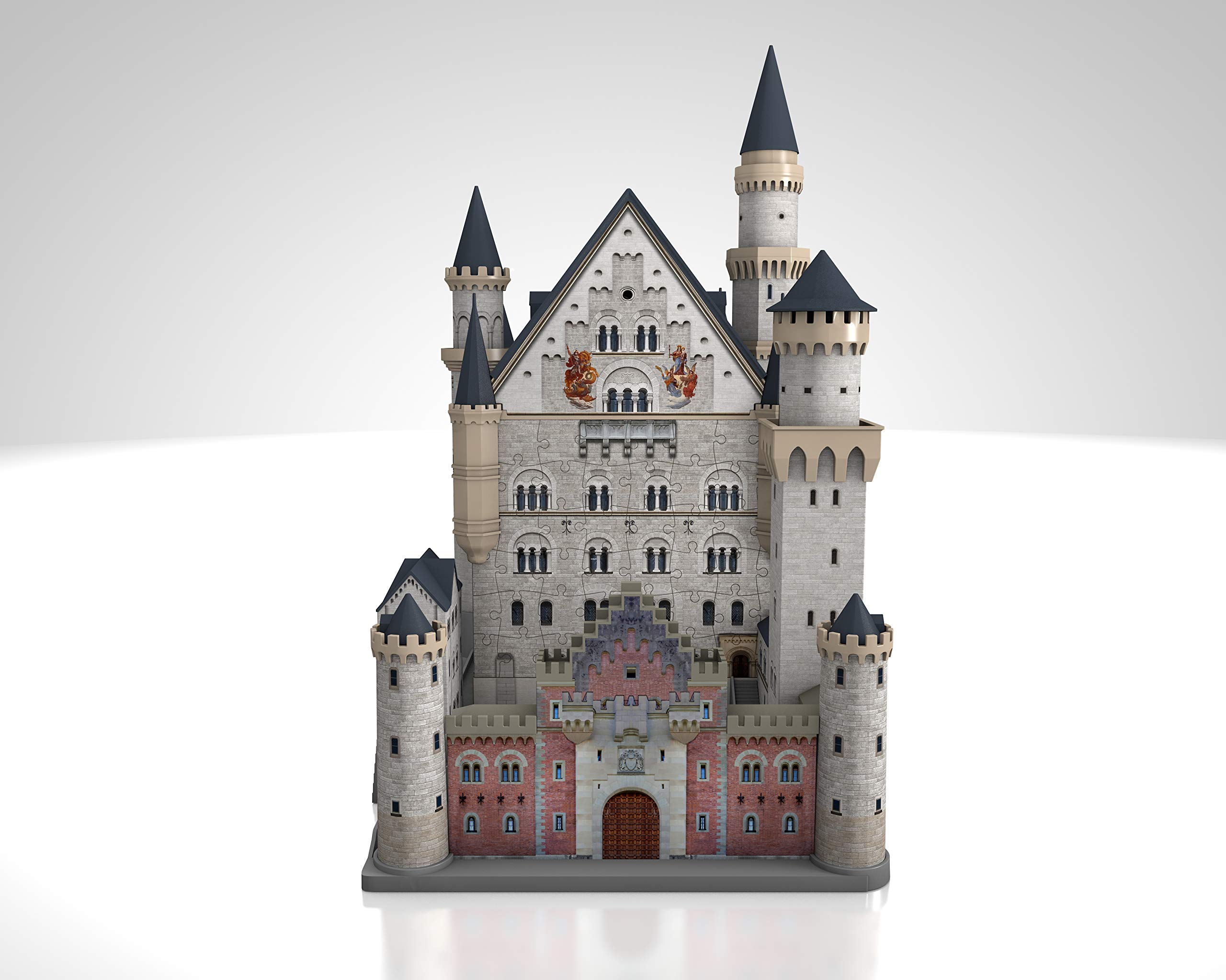 Ravensburger Neuschwanstein 216 Piece 3D Jigsaw Puzzle for Kids and Adults - Easy Click Technology Means Pieces Fit Together Perfectly