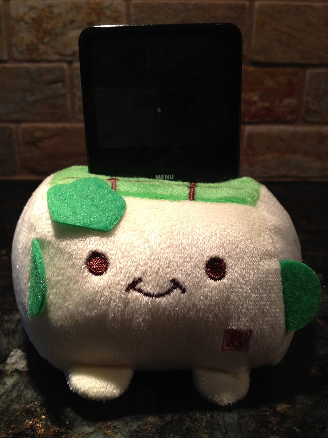 Tofu Plush phone holder