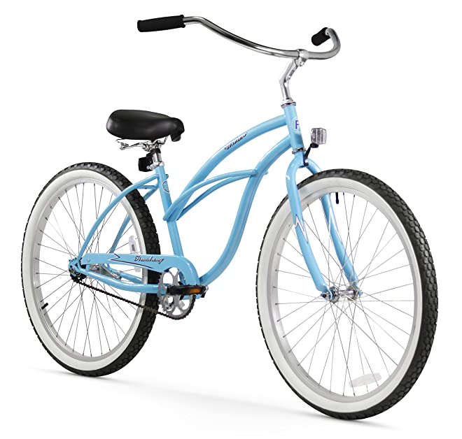 Firmstrong Urban Lady Beach Cruiser Bicycle with Blue Color