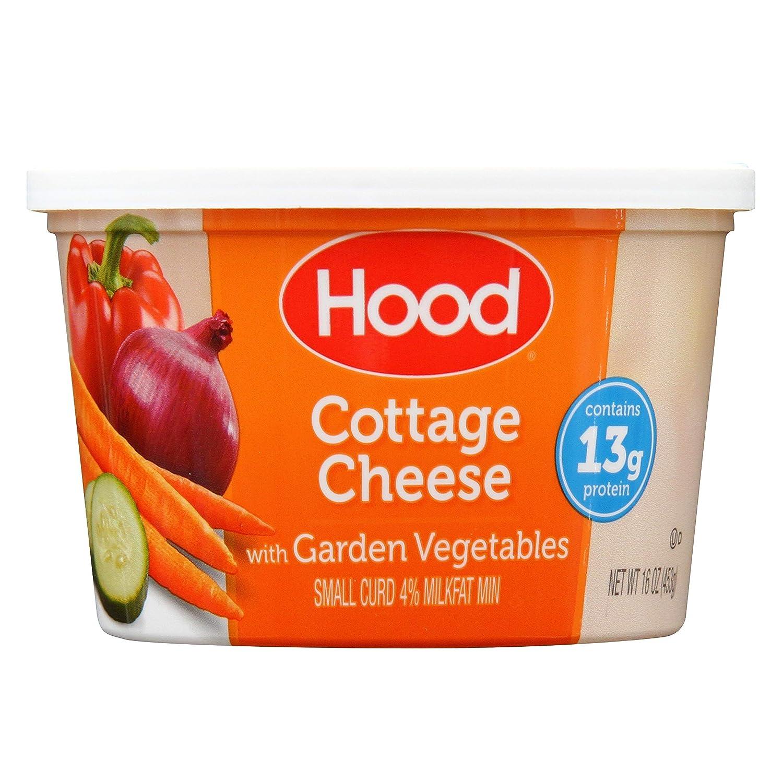 Surprising Hood Cottage Cheese With Garden Vegetables 16Oz Interior Design Ideas Clesiryabchikinfo