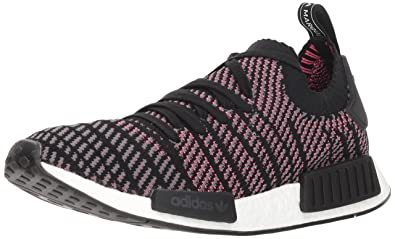 official photos dfe0c 330a4 adidas Originals Men s NMD R1 STLT PK Running Shoe, Black Grey Solar Pink,