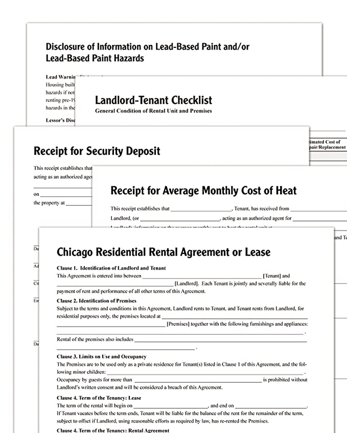Amazon Adams Residential Lease Chicago Forms And Instructions