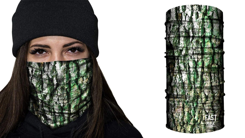 Blue Digital Camo Fast Mask Winter Fleece Face Shield Unisex