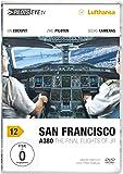 PilotsEYE.tv | SAN FRANCISCO A380 |:| DVD |:| Cockpitflug LUFTHANSA | A380 | The final flights of JR | Bonus: Toulouse Simulator