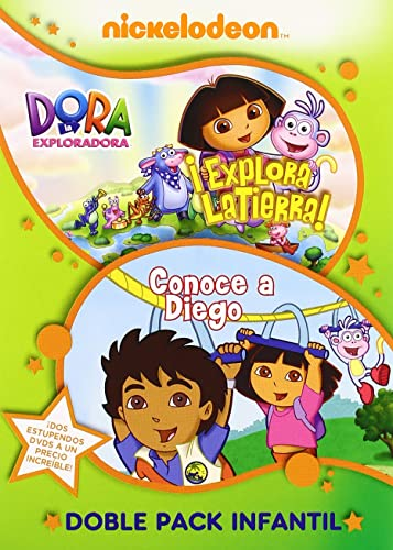 Amazon.com: Dora La Exploradora : Conoce A Diego + Explora La Tierra (Import Movie) (European Format - Zone 2) Gary Con: Movies & TV