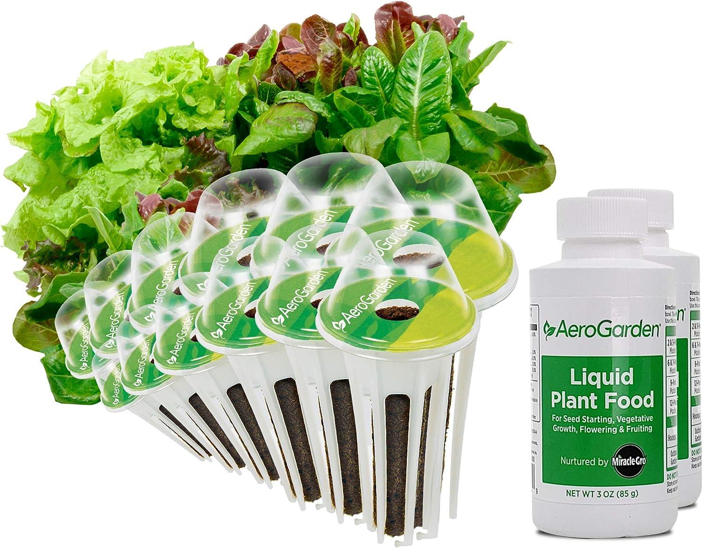 AeroGarden 812604-0208 Heirloom Salad Greens Seed Pod Kit, 12