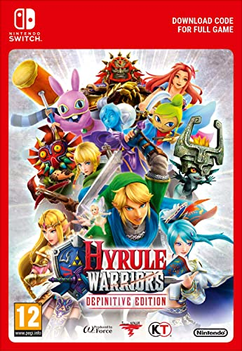 Hyrule Warriors Definitive Edition Switch Download Code Amazon Co Uk Pc Video Games