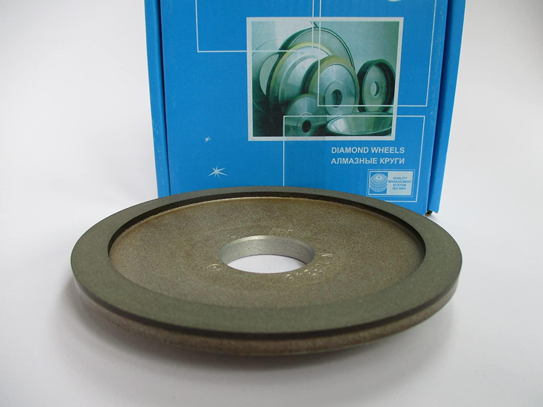 70 Grit 10mm. Dia 5 Width: 0.4 Type: 12A2-20 Dish Diamond Grinding Wheel 32mm. 125mm. Hole 1.26 200//160 Micron
