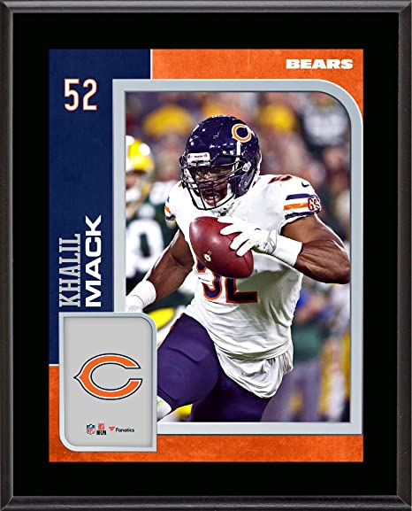 366437de0 Image Unavailable. Image not available for. Color  Khalil Mack Chicago Bears  ...
