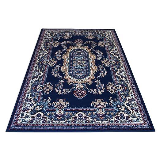 WEBTAPPETI.IT Tappeto Classico Orientale Economico - Tappeto Soggiorno -  Tappeto arredo Royal Shiraz 2063-BLUE PARURE
