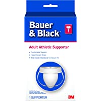 3M Bauer and Black A3 Adult Supporter, Medium