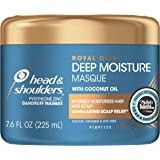 Head and Shoulders Deep Moisture Masque Conditioner Treatment, Anti Dandruff and Scalp Care, Royal Oils Collection with…