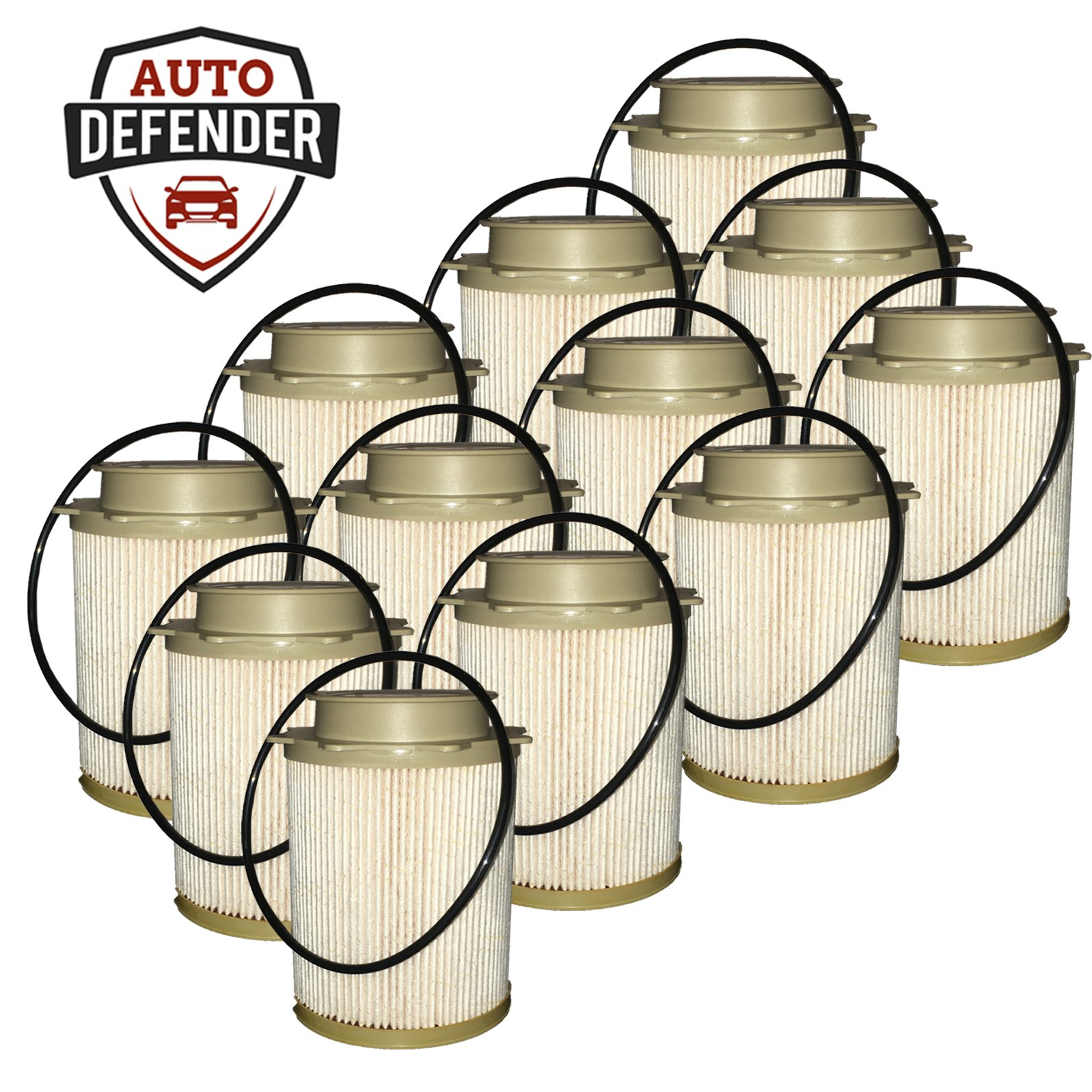 Auto Defender DF401-AD Fuel Filter for 6.7L Turbo Engines (12) by Auto Defender