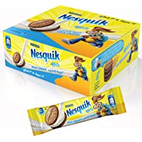 Nesquik Biscuits Milk Cream, 28 gm (Pack of 12)