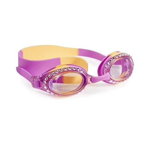 a37eee443278 Buy Swimming Goggles for Girls - New Glitter Classic Kids Swim Goggles by  Bling2o (PB Jelly) Online at Low Prices in India - Amazon.in