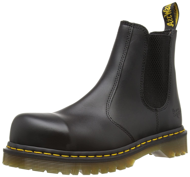 TALLA 39 EU. Dr. Martens Icon - SB E Rating - Calzado de protección para hombre, color Negro (Black 2028), talla 39 EU