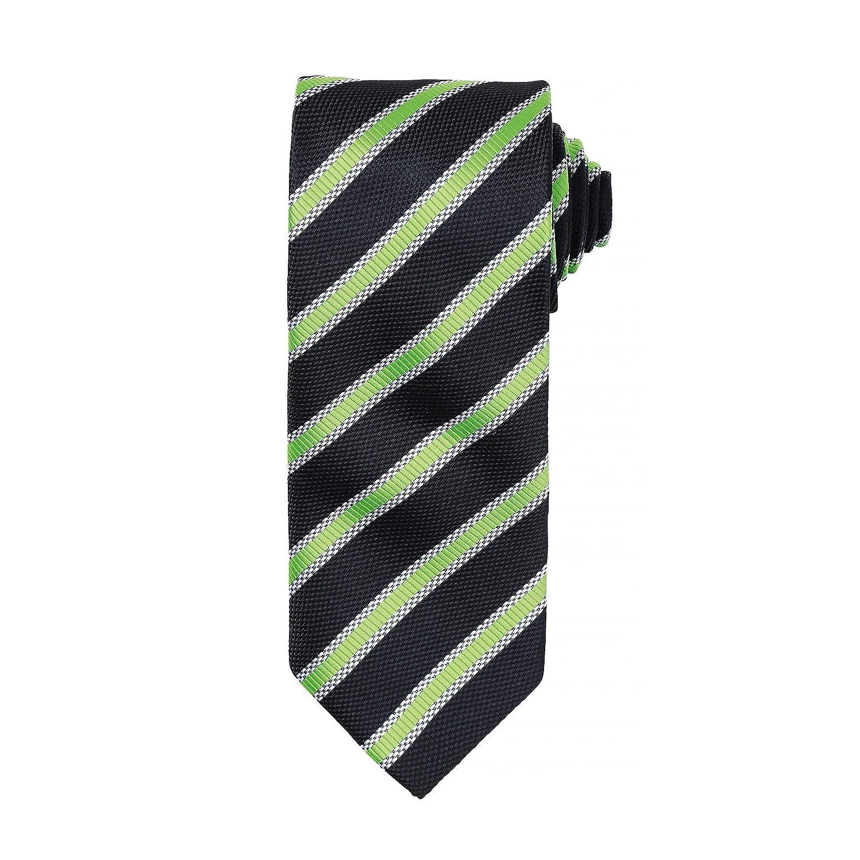 Premier - Corbata formal a rayas para hombre (Paquete de 2) (Talla ...