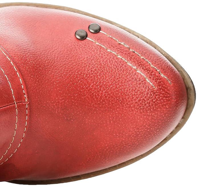 Mustang 1141606 - Botas Para Mujer, 5 Rot, 37 EU: Amazon.es: Zapatos y complementos