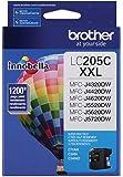Brother Printer LC205C Super High Yield Ink Cartridge, Cyan