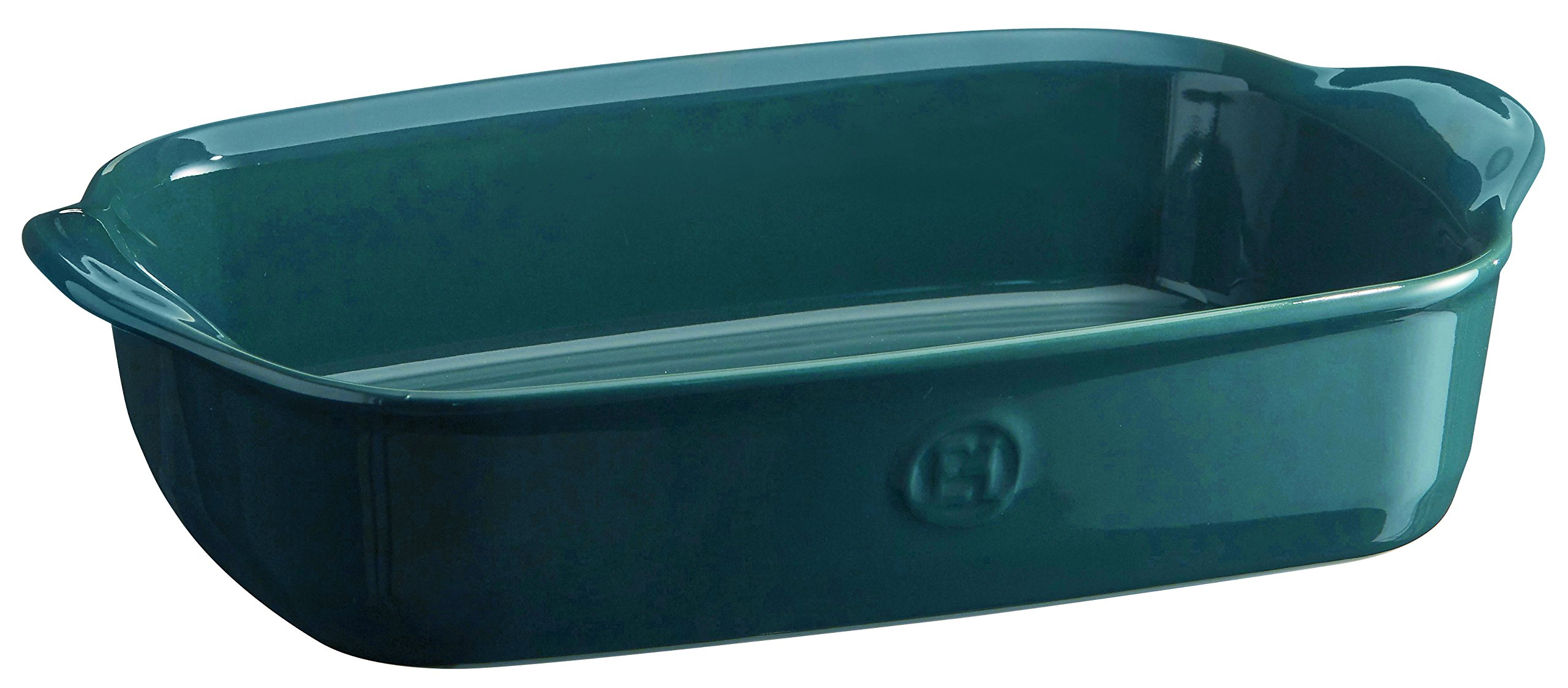 Emile Henry 979650 France Ovenware Ultime Rectangular Baking Dish, 11.4 x 7.5, Blue
