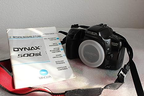 Minolta - Cámara réflex Camera Dynax 500si - Sólo la Body - Cámara ...