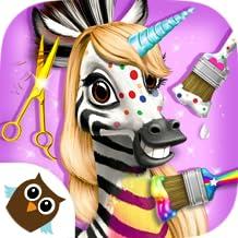 Jungle Animal Hair Salon 2 - Tropical Pet Makeover