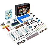SunFounder Super Starter Learning Kit V3.0 for Raspberry Pi 400 4 Model B 3B+ 3B 2B B+ A+ Zero Including 123-Page Instruction