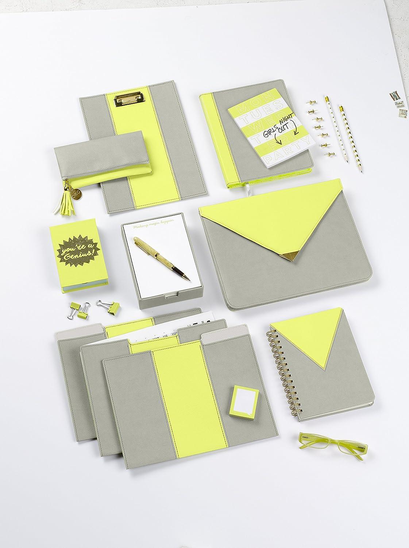 Cr Gibson 200-count Nota hojas, magnético, notas vienen en caja de recuerdos con cierre magnético, hojas, medidas de papel 4